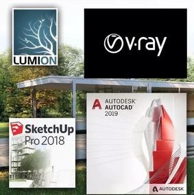 download sketchup 2018 + vray 3.6 crackeado