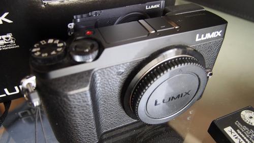 lumix gx85 gh5 4k m4/3 2 pilas