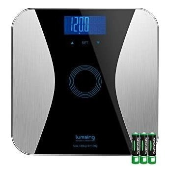 lumsing bathroom body fat scale-digital body monitor analyze