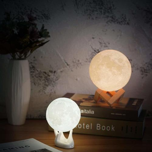 luna de la lámpara, balkwan 3,5 pulgadas de impresión en 3