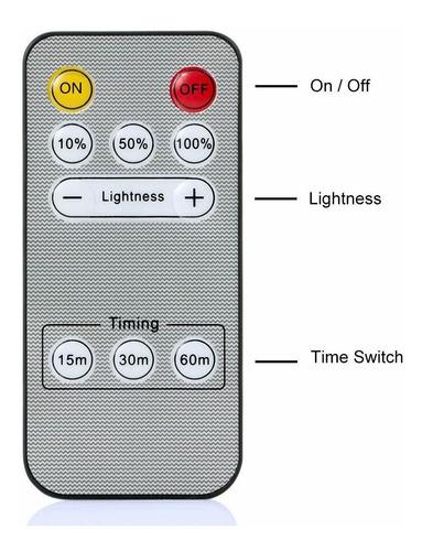 luna de plug-in de control remoto led luz de la noche nite d