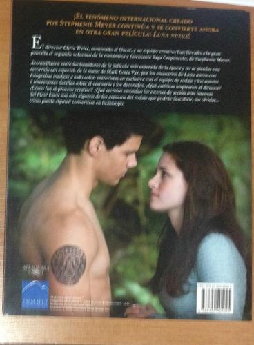 luna nueva: libro oficial de la película