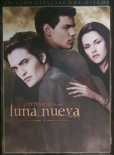 luna nueva new moon crepusculo saga 2 discos pelicula dvd