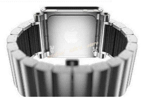 lunatik extencible aluminio para ipod nano touch 6g  ligero