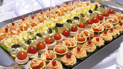 lunch, catering, servicio