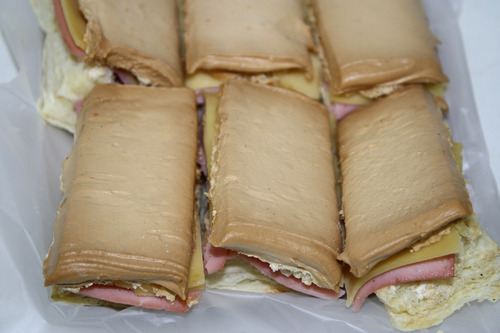 lunch sandwiches de miga triples masitas ramallo club