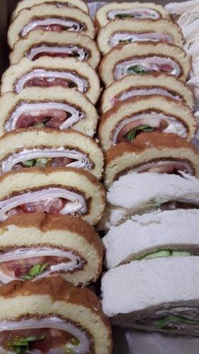 lunchs y catering  12, 24, 30 y más..  desde $1500