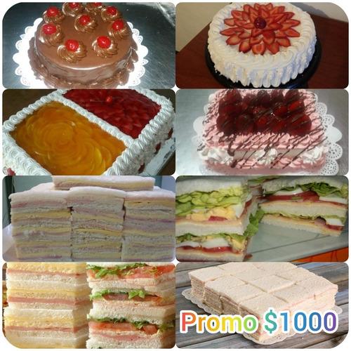 lunch,tortas,postres y mucho mas