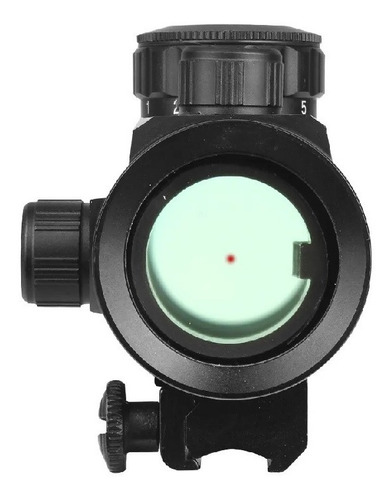luneta dot cbc carabina pressão hatsan airtact trilho 11mm