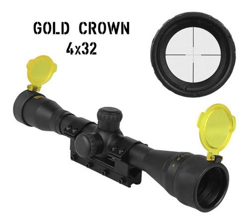 luneta mira rossi gold crown 4x32 11mm