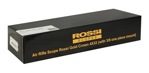 luneta rossi gold crown 4x32 11mm