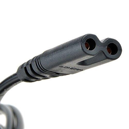 lunling reemplazo us 2 prong figura 8 cable de alimentación