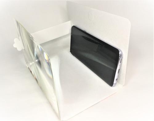 lupa ampliadora zoo dobrável p/ tela de celular 3d hd m03 11