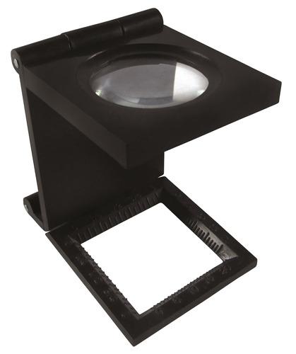 lupa cuenta hilos plástica, 1  óptico 5x    acha  52-990