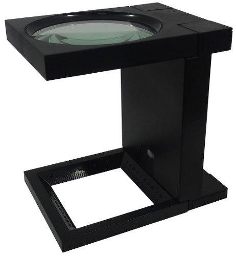 lupa cuentahilo con luz led 90 mm aumento 3x 14115a obi