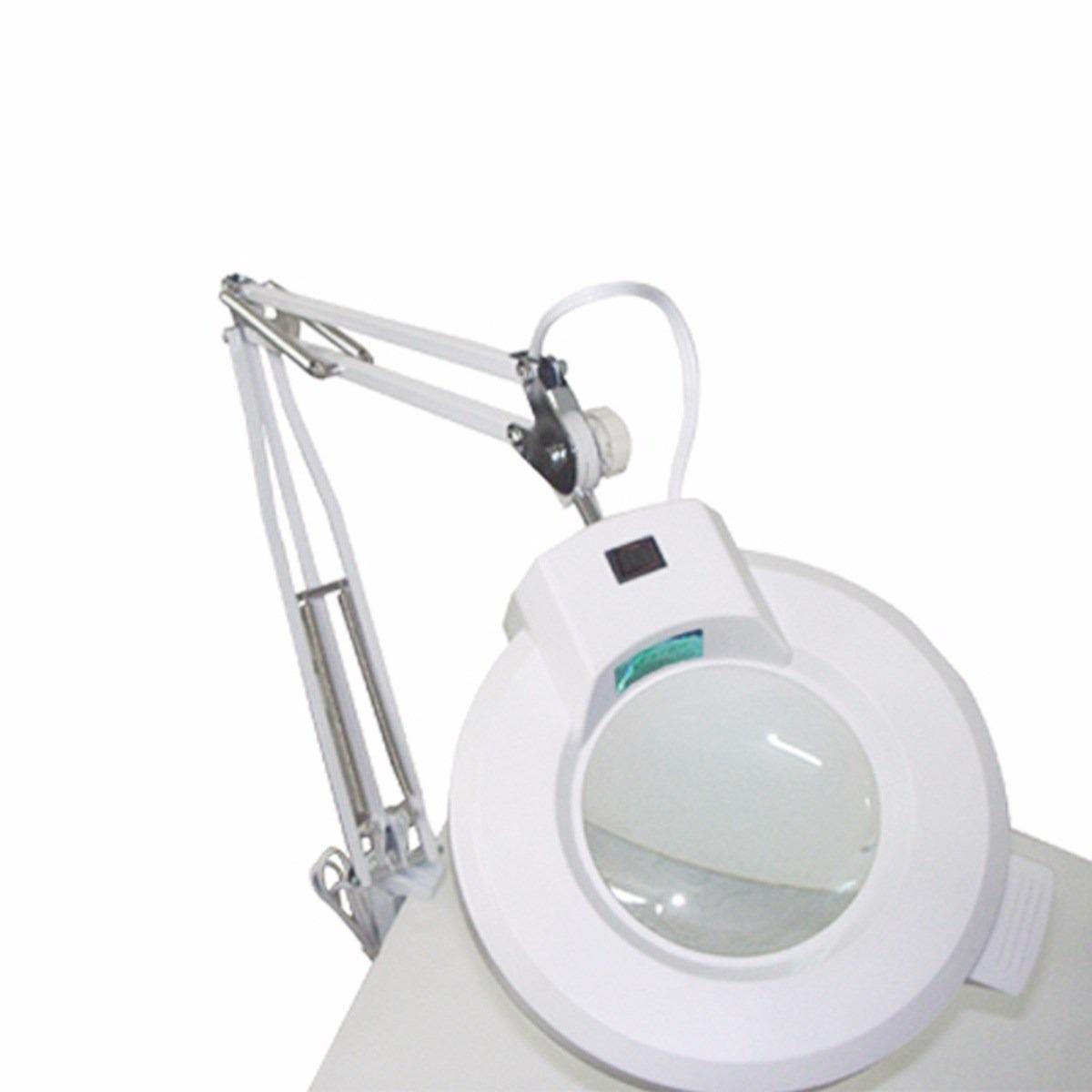 Lupa De Aumento Led Para Bancada Apoio De Mesa Estek Bivolt - R  416,99 em  Mercado Livre dbe80166c1