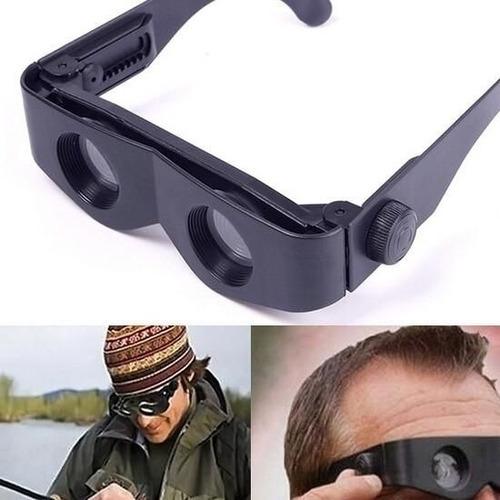 lupa de cabeça oculos binoculo ajustavel aumento 400% selos
