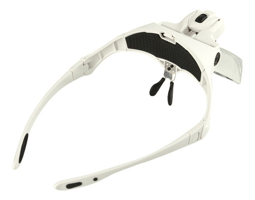 lupa de cabeza vincha o anteojo luz led 5 lentes de aumento