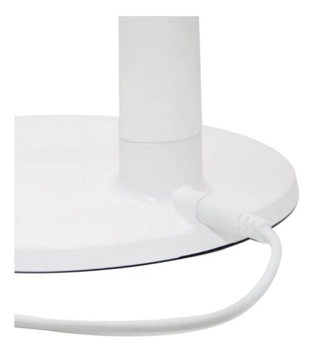 lupa de mesa com iluminação led 6w 5d com botão touch solver