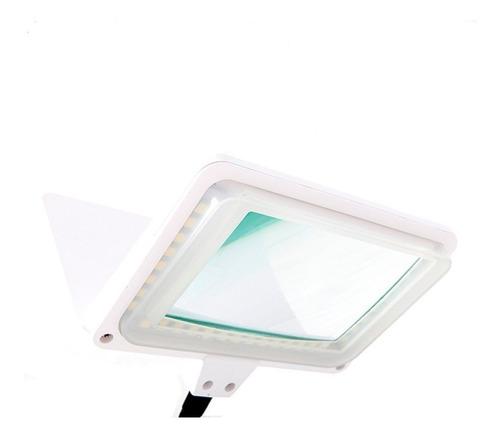 lupa de mesa led proskit  3d 1,75x 30 led 300 lumens ma-1006