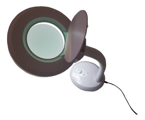 lupa estética mesa de led bivolt multi uso tm 5070