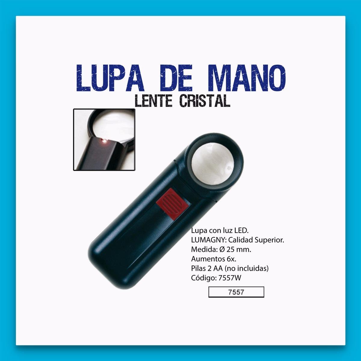 6645b7a2c3 Lupa Galileo L/orgánica Luz Ø25mm 6x Lelab 7557w 81669 Lelab - $ 409,99 en  Mercado Libre