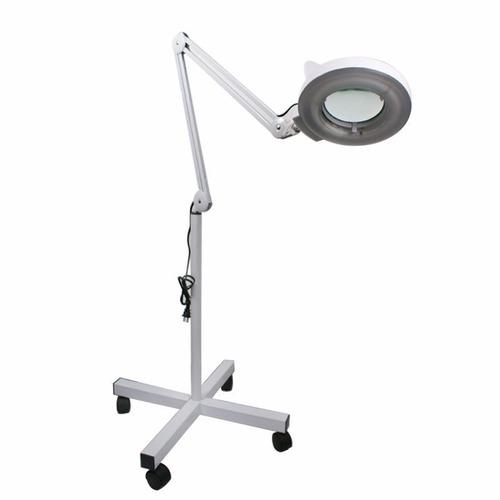 lupa lampara faciales con pedestal 5x spa facial estetica