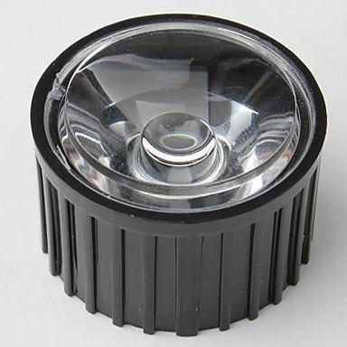 lupa lente para led de 1w 3w 20mm 120°