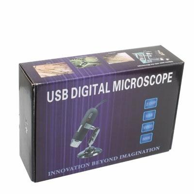 lupa micro digital 2.0 mp usb 8 led luz blanca soporte
