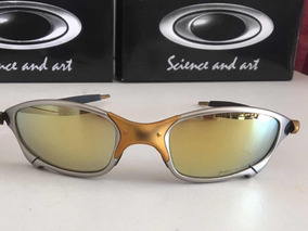abe1bc8ef Lupa Juliet Dourada - Óculos De Sol Oakley Juliet no Mercado Livre ...