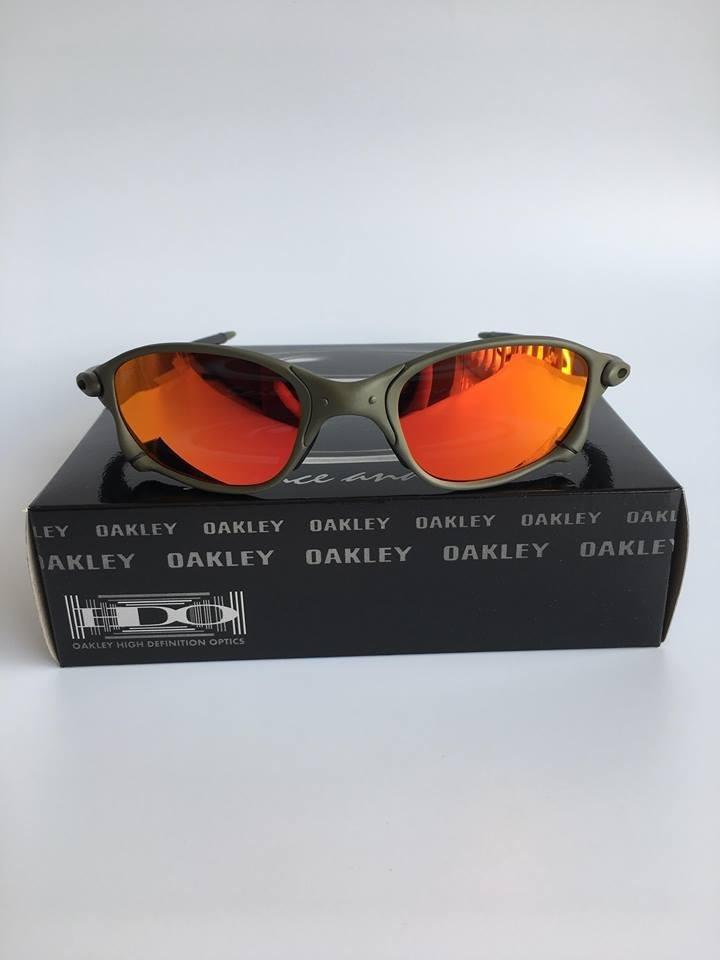 be0e3fb5f03e8 Lupa Oakley Juliet Double Xx 24k Lentes Fire Polarizadas - R  129,00 ...