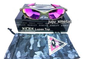 6fd451b1a Juliet Lente Rosa - Óculos De Sol Oakley no Mercado Livre Brasil
