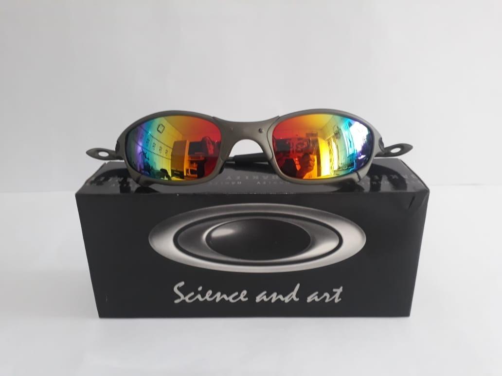 951617cc86d20 lupa óculos oakley juliet romeo1 double xx flame 24k romeo2. Carregando  zoom.