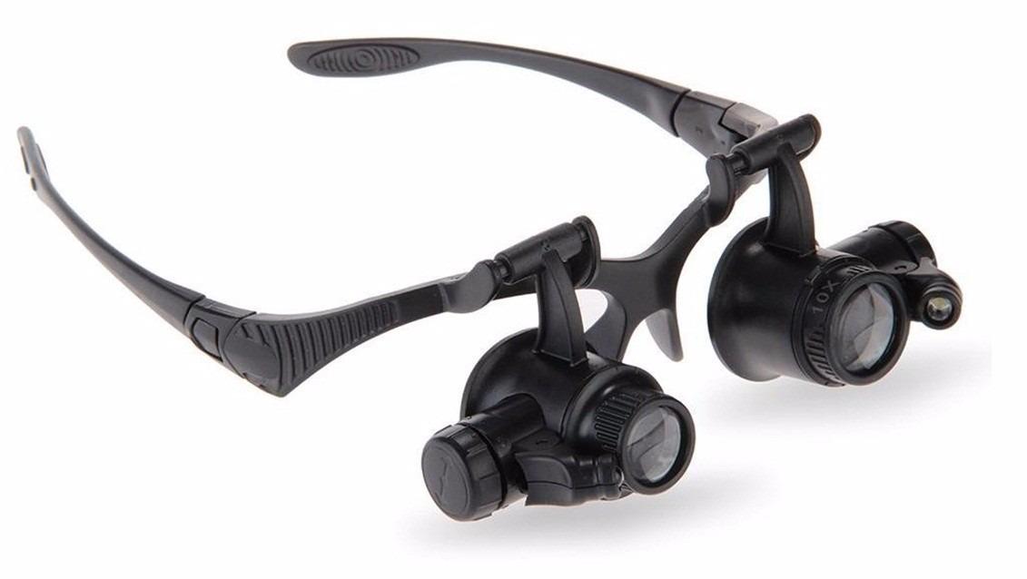b78ffe14d67e7 Lupa Oculos Relojoeiro Zoom 25x Reparos Em Eletronica Bga - R  60