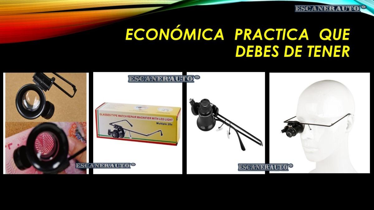 e71727da62 Lupa Tipo Lentes 20x Con Luz Let Blanca - $ 280.00 en Mercado Libre
