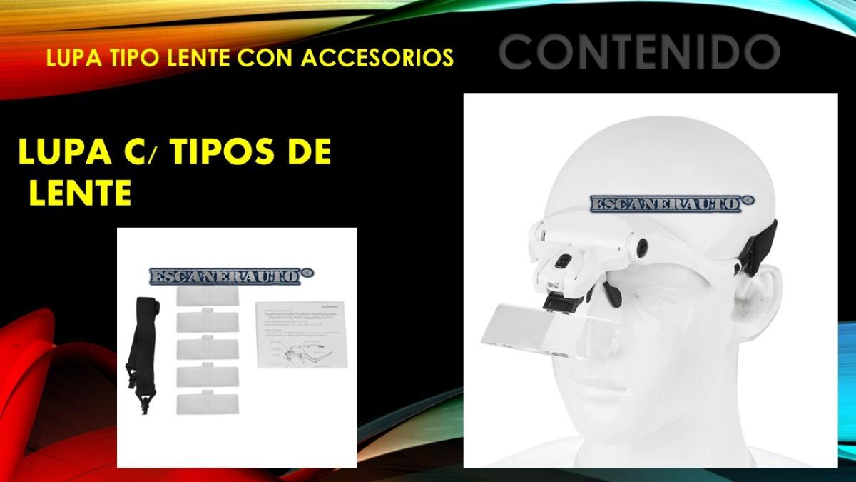 4298aa554b Lupa Tipo Lentes Con Luz - $ 375.00 en Mercado Libre