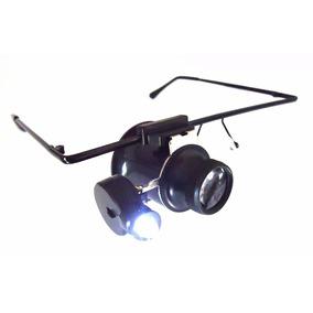 01cdb6ca02adf Oculos Lupa Com Led Lente 20x Para Relojoeiro Ourives