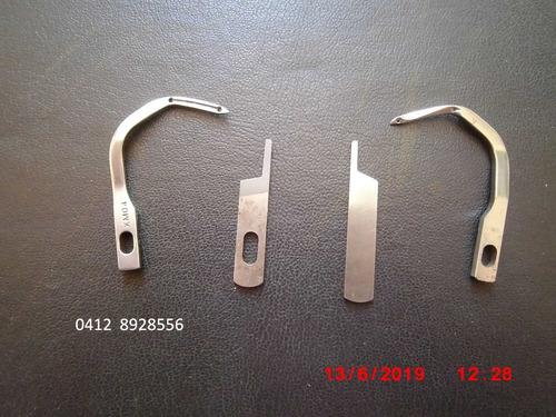 luper de máquina overlock yamata y siruba km04 y cuchilla