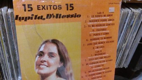 lupita dalessio 15 éxitos disco vinilo