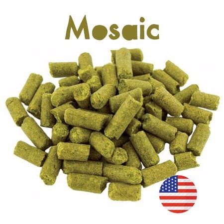 lupulo mosaic em pellet