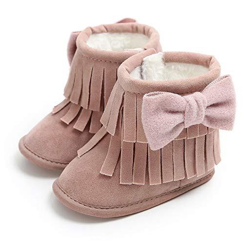 3c5fb090 Lurryly ¿botas De Nieve Para Niñas Zapatos De Cuna Con... - $ 15.990 ...