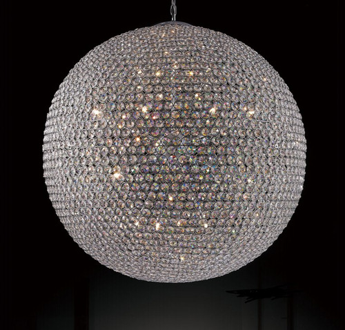lustre bola cristal