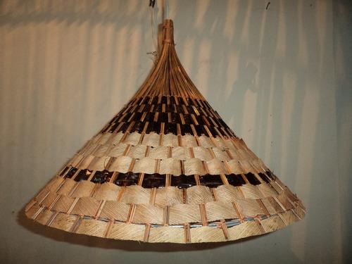 lustre chinês var.2 luminária  artesanal pico das artes