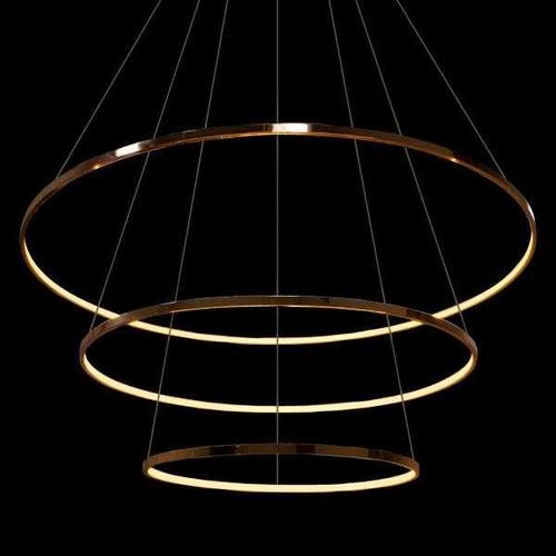 lustre com 03 arcos de led