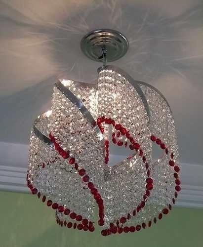 lustre com cristais importado
