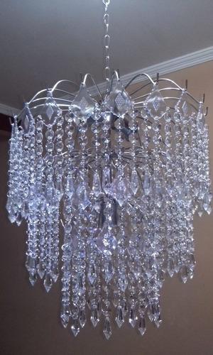 lustre cristal acrilico frete grátis