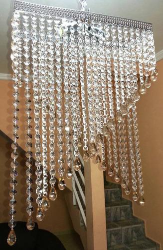 lustre cristal acrilico modelo maldivas