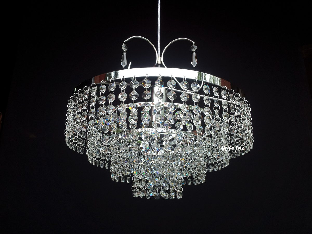 lustre cristal leg timo 700 pedras lh5102 r 523 32 em mercado livre. Black Bedroom Furniture Sets. Home Design Ideas