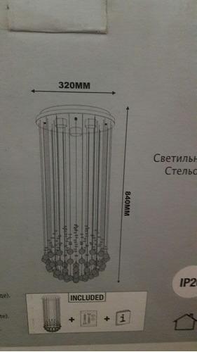 lustre de cristais