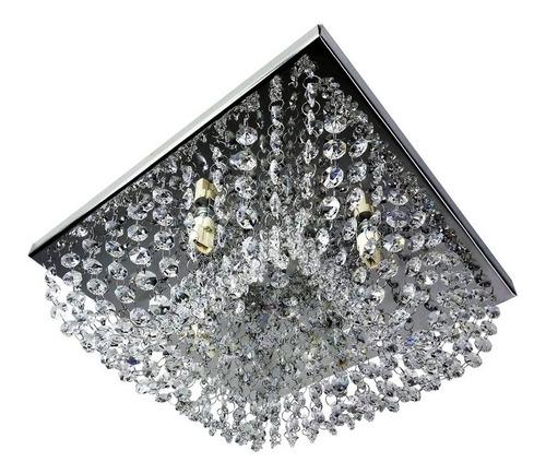 lustre de cristais autênticos 30x30 arqueado ld031